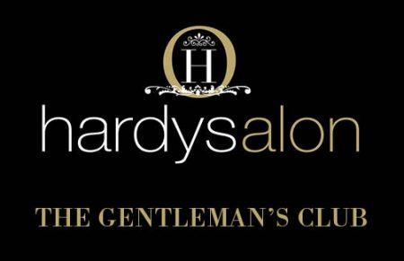 Hardysalon Gentlemens Club Logo - Mens Hairdressers Southsea, Portsmouth